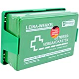 Betriebs Verbandkasten Erste Hilfe Koffer DIN13157 Grün mit Halterung Made in Germany