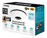 D-Link Systems Inc. DCS-6010L Cloud Camera 6100 - 360 Degree 2 MP Network Camera (White with Black Trim)