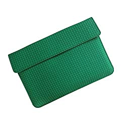 i-KitPit : PU Leather Pouch Case For iBall Slide i6012 (GREEN)
