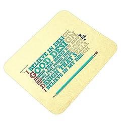 Clapcart Good Design Printed Rubber Base Mat finish Mouse Pad For PC / Laptop - Multicolor