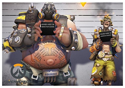 Poster Overwatch - Roadhog & Junkrat A3 (42x30 cm)