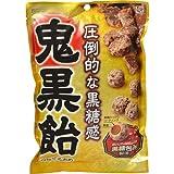 【ケース販売】カンロ 鬼黒飴 90g×6袋