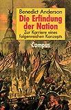 Die Erfindung der Nation. Zur Karriere eines folgenreichen Konzepts. (3593355728) by Anderson, Benedict