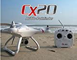 Successory® Cheerson CX-20 Auto-Pathfinder FPV RC Quadcopter with GPS Auto-return Function RTF White