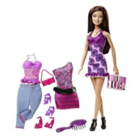 Barbie Doll and Fashion Assortment - Fashion Accessories Purple