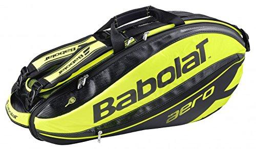 Babolat Turniertasche Pure Aero Racket Holder X6, Schwarz, 75 x 32 x 33 cm, 44 Liter, 751116-142