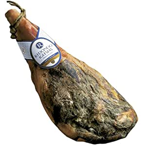 Jamon Serrano Ham, Bone in, Reserva imported from Spain. Aged 18 months. 15lbs