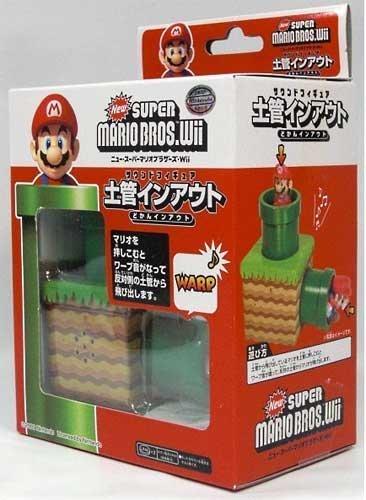 New Super Mario Bros Wii Warp Mini Sound Figure by Third Party