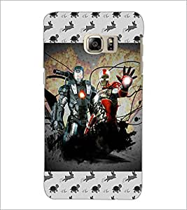 PrintDhaba Warriors D-4635 Back Case Cover for SAMSUNG GALAXY NOTE 5 (Multi-Coloured)
