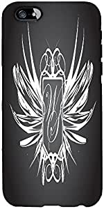 Snoogg Abstract Wings Designer Protective Back Case Cover For Apple Iphone 6 ...