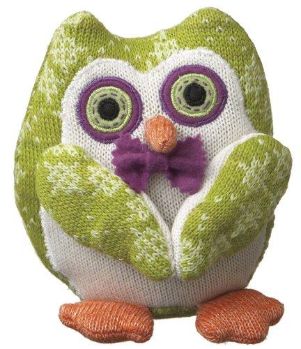"Monkeez ""Trisha"" Knit Owl Plush, Small"