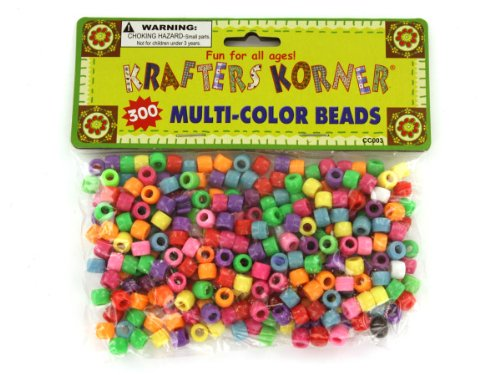 24 Packs of Multi-color crafting pony beads