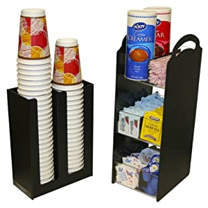 Amazon.com: Coffee Condiment Organizer Combo with cup and ...