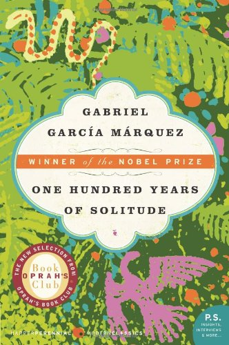The cover of Gabriel García Márquez's One Hundred Years of Solitude