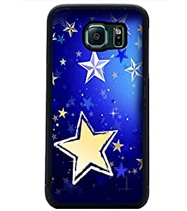 PrintDhaba Stars D-2285 Back Case Cover for SAMSUNG GALAXY S6 EDGE (Multi-Coloured)