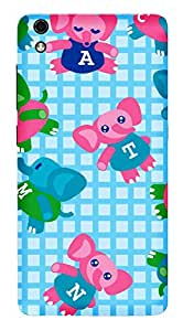 TrilMil Printed Designer Mobile Case Back Cover For LYF Water 8