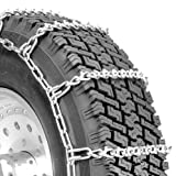 Security Chain Company QG2828 Quik Grip V-Bar Light Truck LRS Tire Traction Chain - Set of 2
