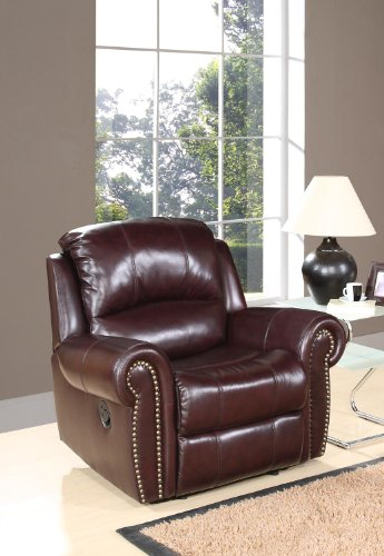 Tremendous How To Abbyson Living Lexington Reclining Italian Leather Machost Co Dining Chair Design Ideas Machostcouk