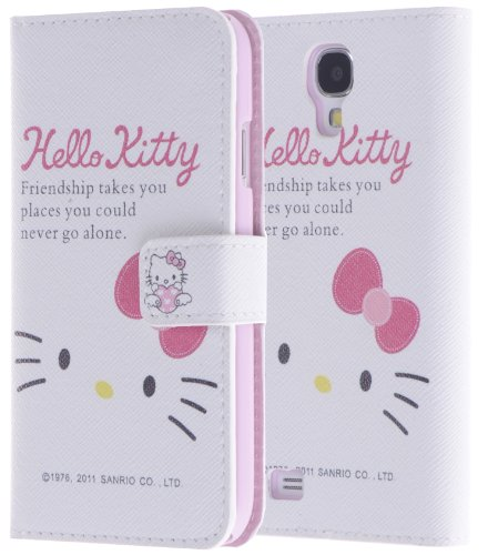 Boilfish,Hello Kitty Face,Samsung Galaxy S4/Iv,Stand,Pu Leather,Folio Flip Cover Case