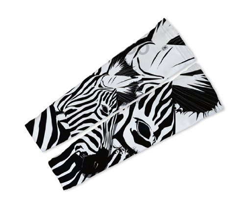 Image of Camo Zebra Arm Warmers Sleeves Unisex Walking/Cycling/Running (01-AWS-030-PM)