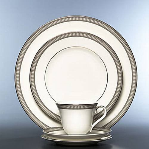 Waterford China Carina Platinum 5-Piece Place Setting by Waterford China (Waterford Carina Platinum compare prices)