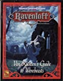 Van Richten's Guide to Werebeasts (AD&D 2nd Edition, Ravenloft Accessory) (1560766336) by Findley, Nigel