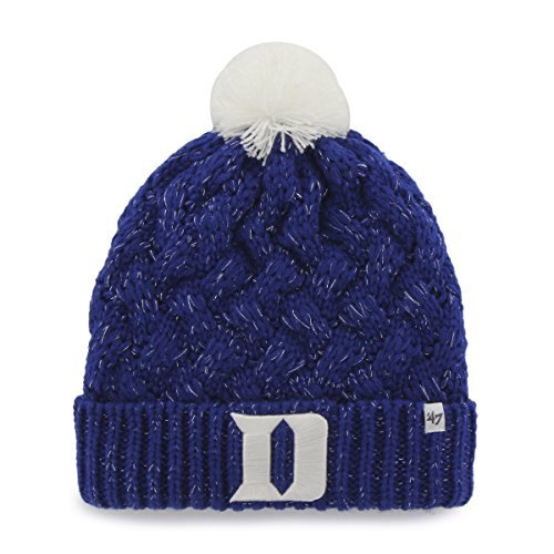 NCAA Duke Blue Devils Women's Fiona Cuff Knit Hat, One Size, Royal (Duke Blue Devils Womens Apparel compare prices)