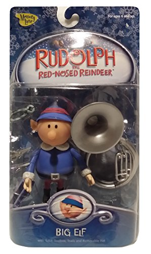 Rudolph the Red-Nosed Reindeer Big Elf Holiday Action Figure