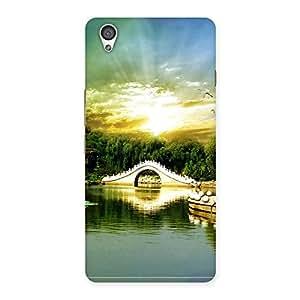 Ajay Enterprises Beautifull screan Back Case Cover for OnePlus X