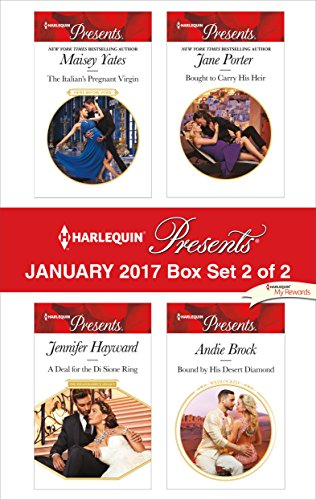 Harlequin Presents January 2017 - Box Set 2 of 2: The Italian's Pregnant Virgin\A Deal for the Di Sione Ring\Bought to Carry His Heir\Bound by His Desert Diamond (Italian Hero Ring compare prices)