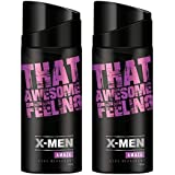 X-MEN Amaze Body Deodorant Spray (Pack Of 2 X 150 Ml)