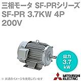 三菱電機 SF-PR 3.7KW 4P 200V 三相モータ SF-PRシリーズ (出力3.7kW) (4極) (200Vクラス) (脚取付形) (屋内形) (ブレーキ無) NN