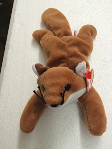 Ty Beanie Babies Sly the Fox Plush Doll