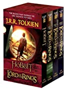 J.R.R. Tolkien 4-Book Boxed Set: The Hobbit and The Lord of the Rings (Movie Tie-in): The Hobbit, The Fellowship of the Ring, The Two Towers, The Return of the King by J.R.R. Tolkien cover image