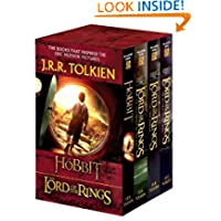 J.R.R. Tolkien 4-Book Boxed Set: The Hobbit and The Lord of the Rings (Movie Tie-in): The Hobbit, The Fellowship...