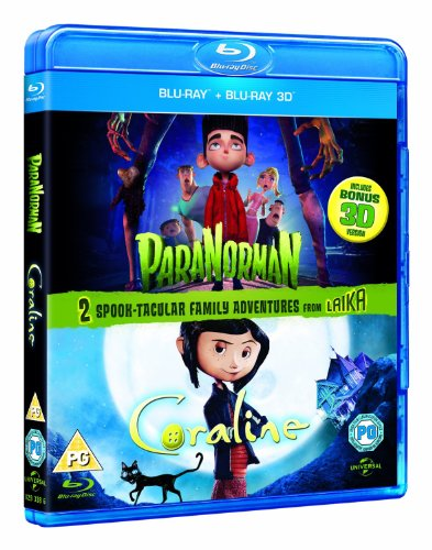 Sale alerts for  ParaNorman 3D / Coraline 3D (Double Pack) [Blu-ray 3D - Blu-ray] - Covvet