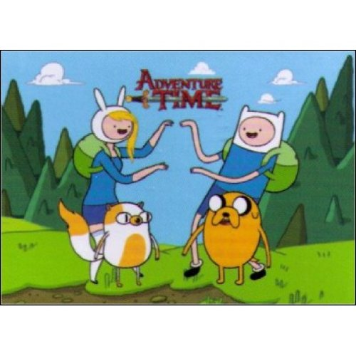 Adventure Time Fionna, Cake, Jake & Finn Magnet