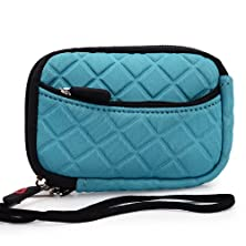 buy Kroo Earbuds Earphone Carrying Case Fits Bluetooth Jam Transit Mini Wireless Earbuds (Mint Blue) // Vibrant Colors