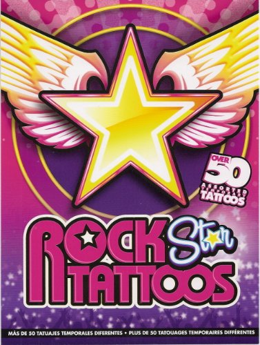 Rock Star Temporary Tattoos - 50+ girls tattoos