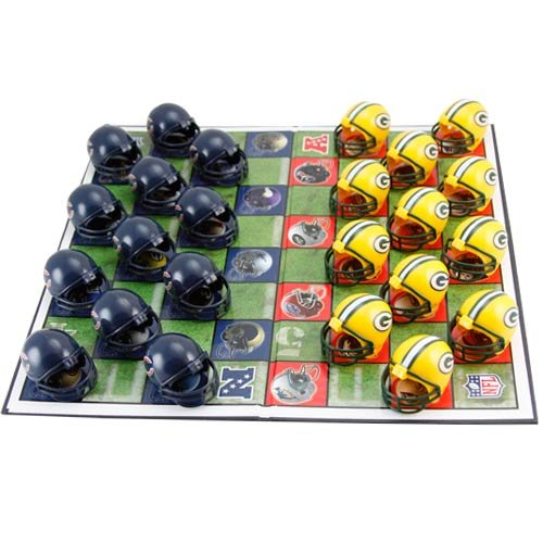 Green Bay Packers Checker Set at Amazon.com