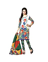 Siddhi Unstitched Cotton Printed Salwar Suit Dupatta Material ( 2002 )