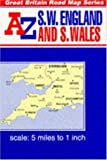 img - for South West England and Wales Map Guide (Reversible Great Britain series) book / textbook / text book