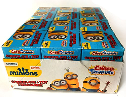 NEW!!! Choco Treasure Minions Toy surprise! Box