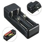Lights & Lighting - Eu Plug 3.7v 18650/16340/14500/10440 Li-Ion Battery Dual Charger - 1PCs