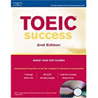 TOEIC Success: With 4 audio CD's; Boost Your Test Scores (Peterson's TOEIC Official Test Preparation Guide)