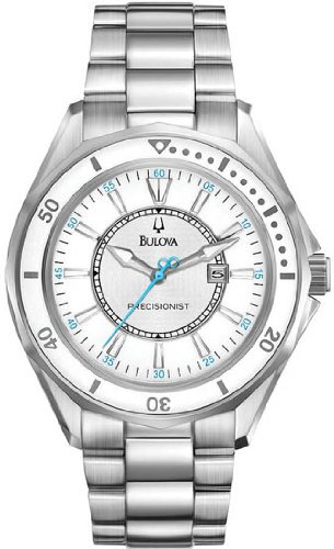 Women Bulova 96M123 Precisionist Precisionist Stainless Steel Case and Bracelet Women Bulova 96M123