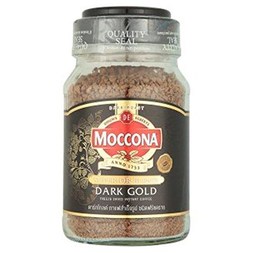 Moccona Dark Gold Freeze Dried Instant Coffee 7.05 Oz.