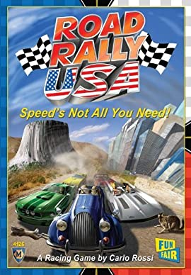 Road Rally USA Board Game
