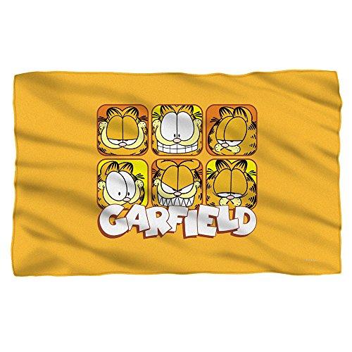 Garfield Faces Sublimation Fleece Blanket