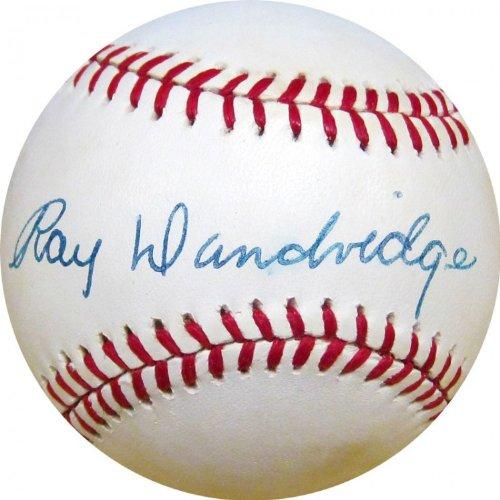 Ray Dandridge Autographed Baseball